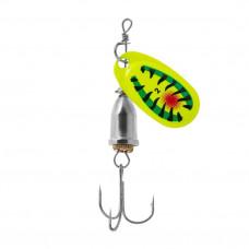 Блесна Premier Fishing Gidra №2, 6.5г. Hot Tiger PR-SPRH12HT-2
