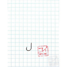 Крючок Koi Okiami Chinu-Ring № 12 /0,5 (AS), BN (10 шт.) KH7101-05BN
