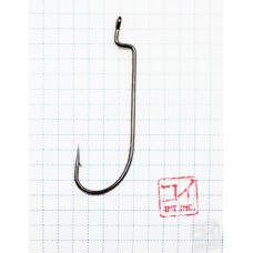 Крючок Koi O'Shaughnessy Worm № 5/0 , BN, офсетный (10 шт.) KH6191-5/0BN