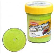 Паста форелевая Berkley 50 г Liver - Chartreuse (зеленый)