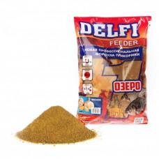 Прикормка Delfi Feeder Озеро 800г Чеснок DFG-351