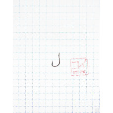 Крючок Koi Idumezina-Ring № 10 /6 (AS), BN (10 шт.) KH851-6BN