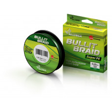 Леска плетеная Allvega Bullit Braid 270м 0,26мм (18,6кг) темно-зеленая