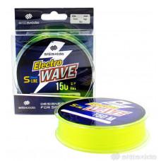 Леска Shii Saido Electro wave, 150 м, 0,331 мм, до 7,83 кг, желтая SSE150-0,331