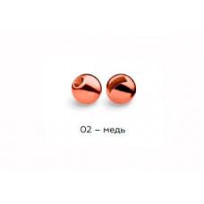 Вольфрамовая головка Namazu Pro TiA Tungsten Head Trout 2,8, 0,2г, медь (5 шт) NPT-TH28-02