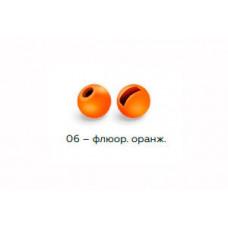 Вольфрамовая головка Namazu Pro TiA Tungsten Head Trout 3,3, 0,3г, фц/оранж. (5 шт) NPT-TH33-06