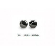 Вольфрамовая головка Namazu Pro TiA Tungsten Head Trout 2,8, 0,2г, черн/никель (5 шт) NPT-TH28-03
