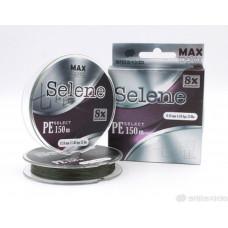 Шнур плетеный Shii Saido Selene 8X, 150 м, 0,370 мм, до 20,39 кг, mosgreen SBLS150-8X-36