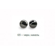 Вольфрамовая головка Namazu Pro TiA Tungsten Head Trout 2,4, 0,1г, черн/никель (5 шт) NPT-TH24-03