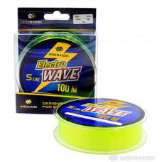Леска Shii Saido Electro wave, 100 м, 0,37 мм, до 9,68 кг, желтая SSE100-0,37