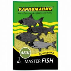 Прикормка Карпомания Master Fish 1кг Лещ