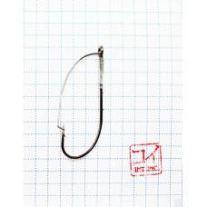 Крючок Koi Weedless Single Hook № 2/0, BN, незацепляйка (10 шт.) KH5241-2/0BN