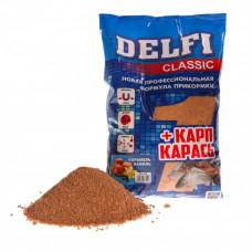 Прикормка Delfi Classic Карп-Карась 800г Карамель/Ваниль DFG-052