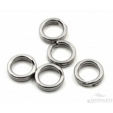 Заводное кольцо Namazu, цв. Cr, р. 1 ( d=11,5 mm), до 43 кг 10 шт N-FT-RA1