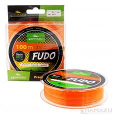 Леска Namazu Fudo, 100 м, 0,28 мм, до 6,27 кг, оранжево-желтая NF100-0,28