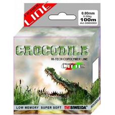 Леска SWD Crocodile 100м 0,16 (2,80кг) прозрачная