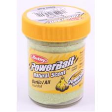 Паста форелевая Berkley 50 г Garlic Glitter (чесночный с блеском)