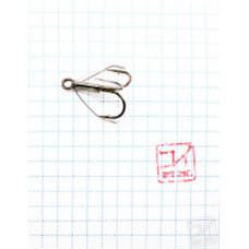 Крючок Koi Weedless Treble Hook № 4 , BN, тройник незацепляйка (5 шт.) KH2335-4BN