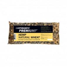 Прикормка Конопля натуральная с пшеницей Карпомания Premium 500г